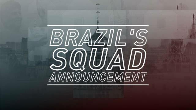 Neymar y Coutinho lideran la lista de Brasil para el Mundial de Rusia
