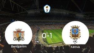 El Olimpic Xátiva logra una ajustada victoria frente al Benigànim (0-1)