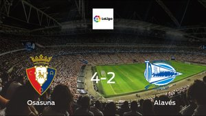 Osasuna cruise to a 4-2 win vs. Alavés at Estadio El Sadar