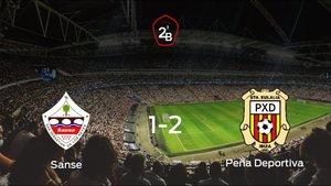 El Peña Deportiva se lleva tres puntos tras vencer 1-2 al Sanse