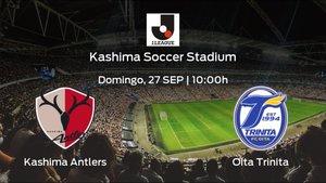 Previa del encuentro: el Kashima Antlers recibe al Oita Trinita