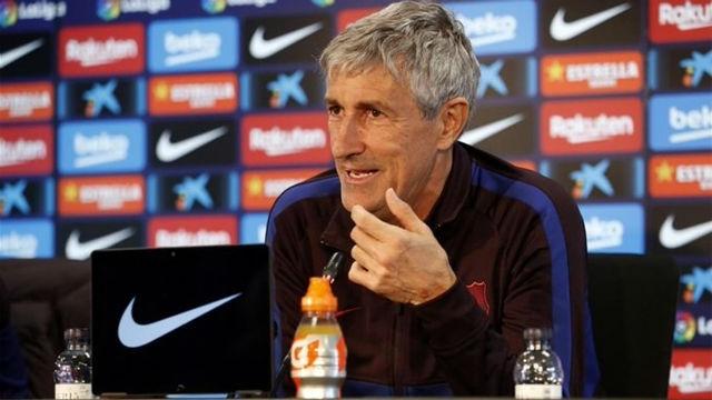 Quique Setién: Me veo entrenando al Barça el año que viene