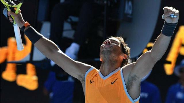 Rafa Nadal pasó por encima de Berdych