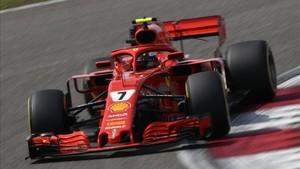 Raikkonen se siente cómodo con el nuevo Ferrari SF71H