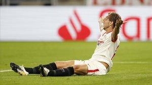Rakitic defendió el partido del Sevilla ante el Bayern