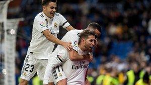 El Real Madrid venció pero no convenció