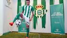 Sanabria, presentado con el Betis