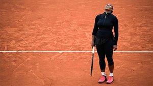 Serena Williams dijo adiós en París