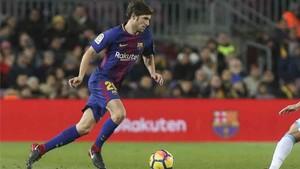Sergi Roberto estará en el once titular del Barcelona ante el Betis