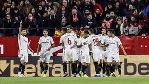 El Sevilla de Pablo Machín bajó un puesto tras empatar en la Jornada 11