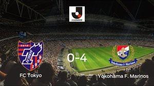 Sólido triunfo para el equipo de Yokohama: FC Tokyo 0-4 Yokohama F. Marinos