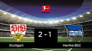 El Stuttgart derrota en casa al Hertha BSC por 2-1