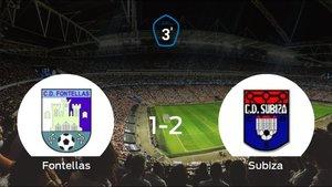 El Subiza se lleva los tres puntos frente al CD Fontellas (1-2)