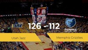 Utah Jazz se impone por 126-112 frente a Memphis Grizzlies