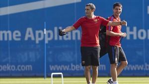 Valverde decidió dar fiesta a la plantilla el día antes de partir hacia Estados Unidos