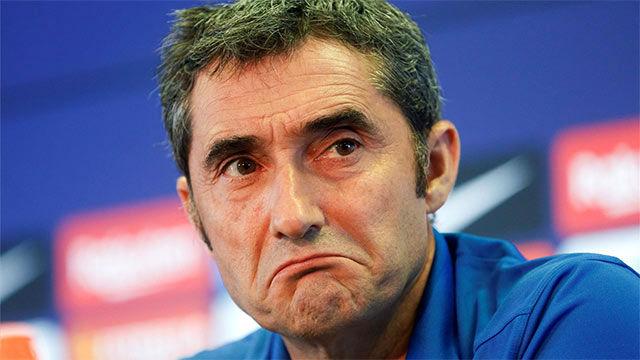 Ernesto Valverde Offers Lionel Messi Injury Update & Laments Spanish Transfer Window