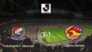 El Yokohama F. Marinos consigue la victoria en casa frente al Vegalta Sendai (3-1)