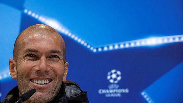 Zidane habló de Bale y del estado del Madrid en la previa ante el Dortmund