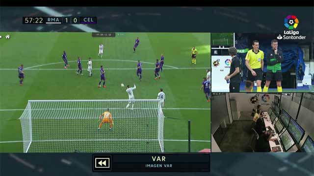 Zidane ya sabe lo que es el VAR: así anularon el gol de Modric