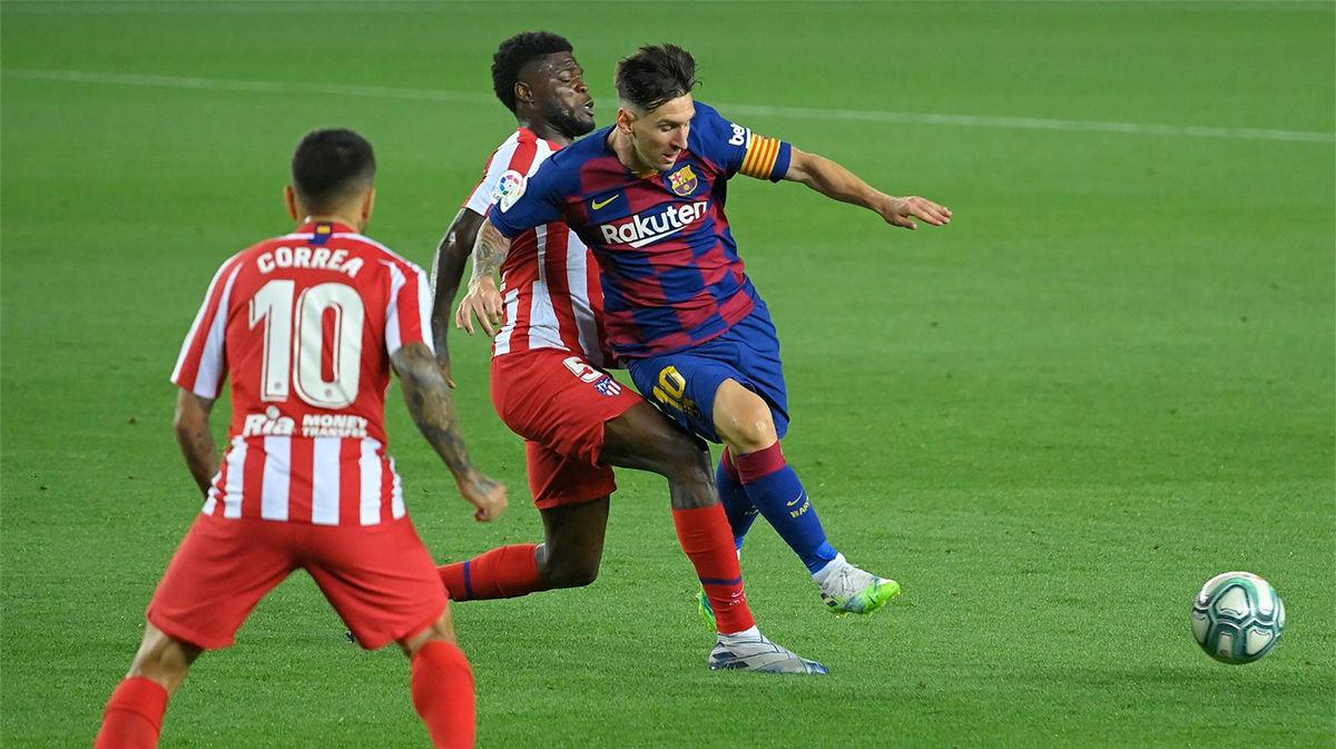El 1x1 del Barça ante el Atlético