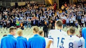 La afición finlandesa idolatra a sus jugadores