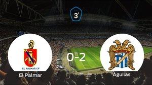El Águilas se impone a El Palmar y consigue los tres puntos (0-2)