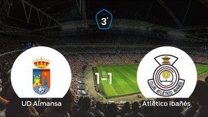 La UD Almansa y el Atlético Ibañés suman un punto tras empatar a uno