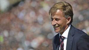Andries Junker es el tercer técnico que ficha el Wolfsburgo para esta temporada