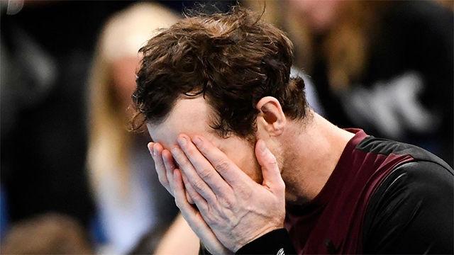 Andy Murray rompe a llorar tras ganar el título en Amberes