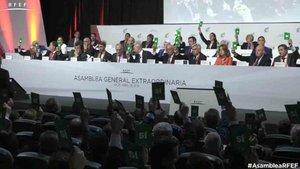 La asamblea ha ratificado la comisión delegada de la RFEF