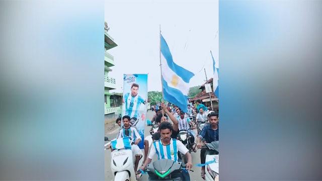 Así han felicitado los fans indios a Messi por su cumpleaños