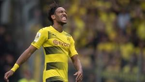 Aubameyang suspira por dejar el Borussia Dortmund