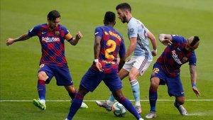El Barcelona no pasó del empate ante el Celta