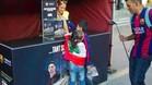 EL FC Barcelona se volcó con los refugiados