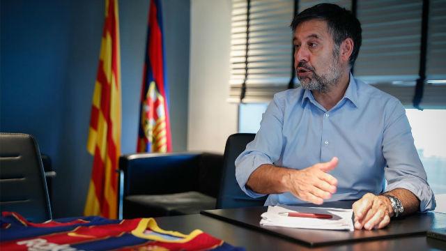 Bartomeu: ¿Neymar? No creo que haya grandes operaciones entre los grandes clubes