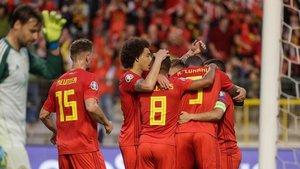 Bélgica ganó con solvencia su cuarto encuentro de la fase de clasificación.