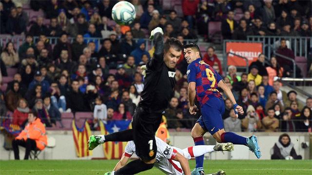 ¡Casi un toque de taco de billar!¡Espectacular!, la desgarradora narración de la obra de arte del Barça