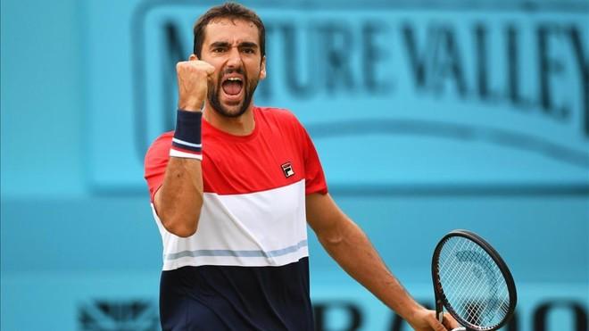 Marin Cilic prevalece en Queen's pero despidió a Wawrinka y Mayer