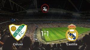 El Coruxoy el RM Castillase reparten los puntos en el Campo do Vao (1-1)