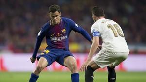 Coutinho marcó un gol de penalti