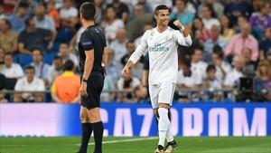 Cristiano Ronaldo abrió el marcador ante el APOEL