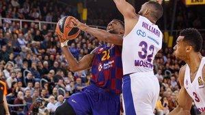 El CSKA arrolló al Barça