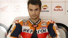 Dani Pedrosa, en una imagen de archivo durante el GP de Catalunya