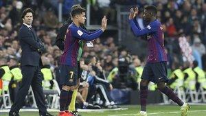 Dembélé y Coutinho gustan al PSG