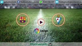 ¡Dispara al Barça al liderato y mira al Bernabéu! Así narró la radio el póker de Leo Messi