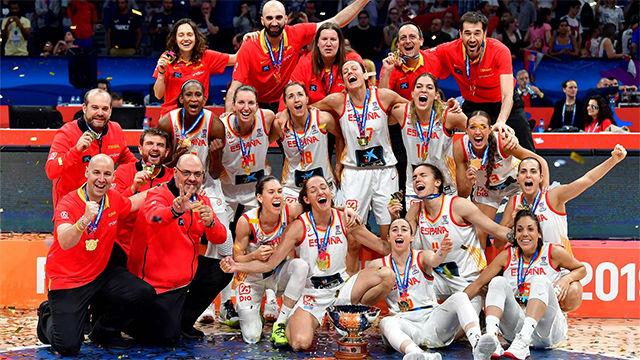 España, campeona del Eurobasket Femenino