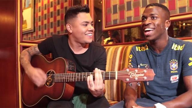 Esta es la prueba de que Vinicius no tiene futuro como cantante