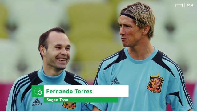 Fernando Torres: Iniesta me animó a ir a Japón
