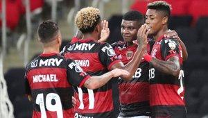 Flamengo logró el pase a octavos de final como líder del grupo A