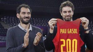 Garbajosa confía en que Pau gasol esté a punto para los Juegos